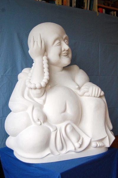 Die fertige Buddha-Skulptur