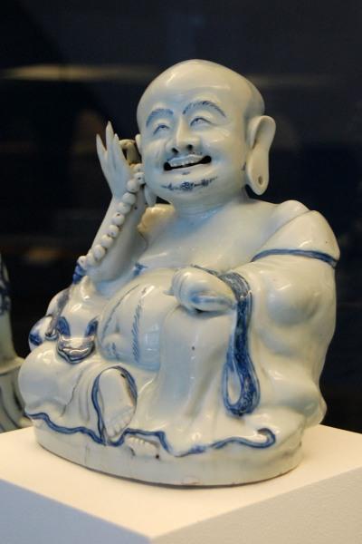 Das Original aus Porzellan (Ming-Dynastie) im Roemer- und Pelizaeus-Museum