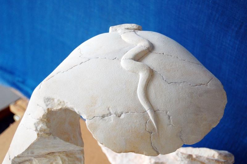 Erstellung einer Kopie der Büste des Pharao Chephren für das Museum Rosenheim/Lokschuppen