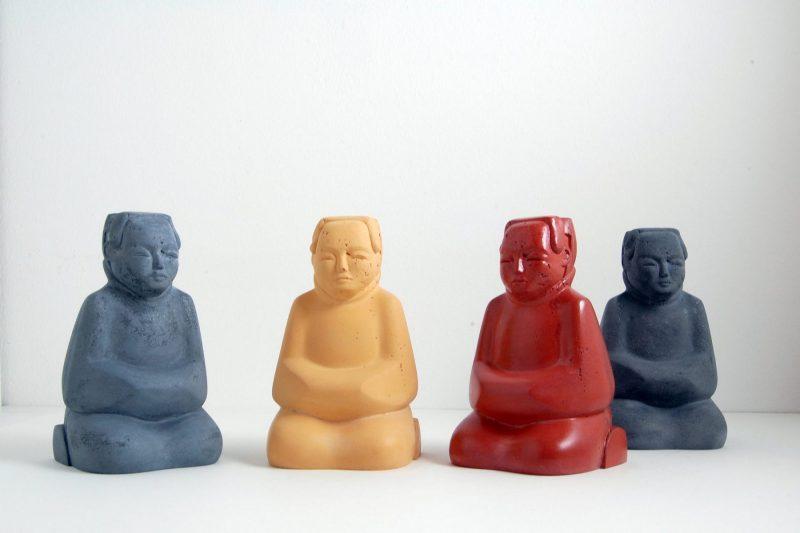 Dienerfiguren Steinguss, Gruppe