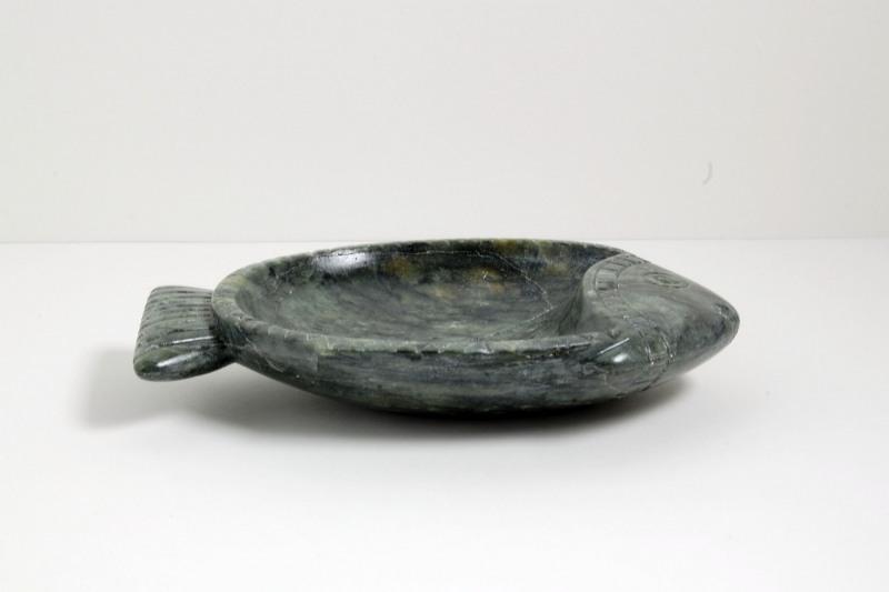 Fisch Speckstein, grüne Schale, 260,-€
